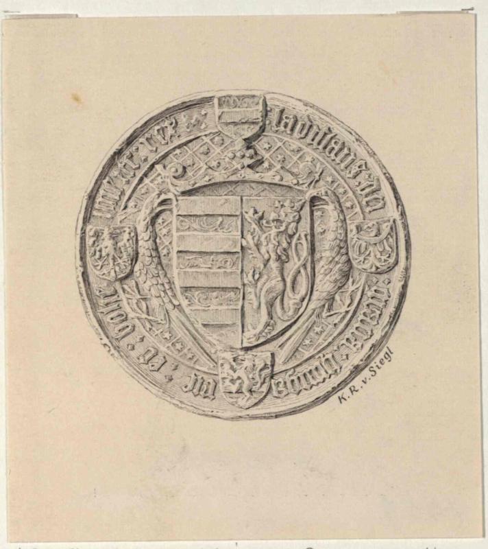 Siegel des Ladislaus Postumus