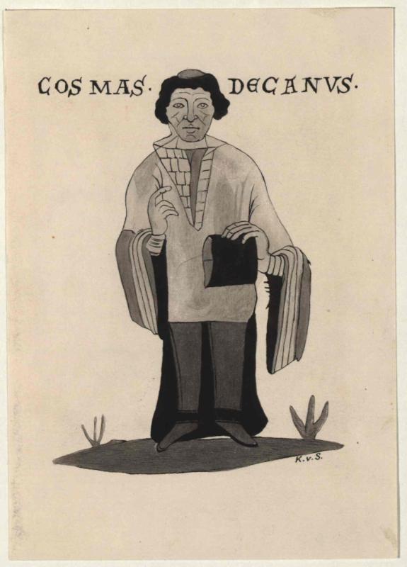 Cosmas von Prag - nach der Leipziger Handschrift