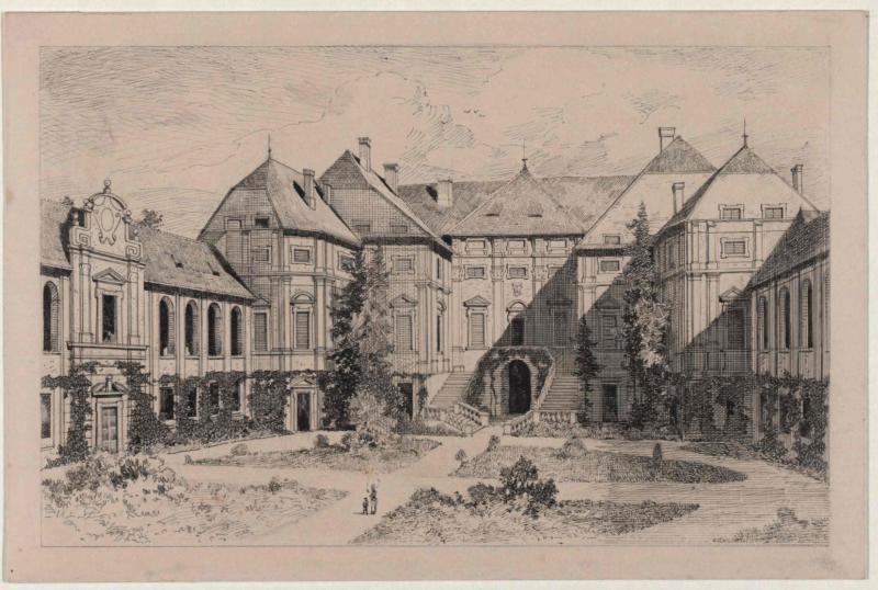 Französisches Prachtschloss des 18. Jahrhunderts: Neu-Stattenberg