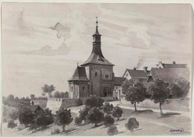 Die St. Nikolauskapelle in Vinec bei Jungbunzlau