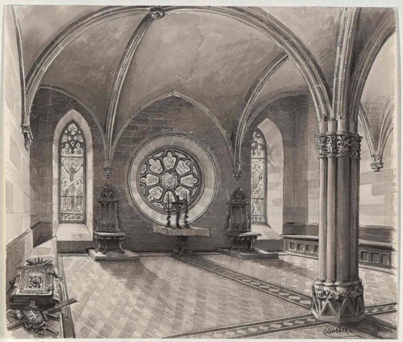 Der Kapitelsaal in Hohenfurt