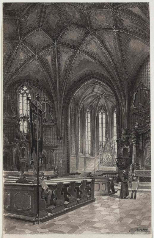 Aus der Karlshofer Kirche
