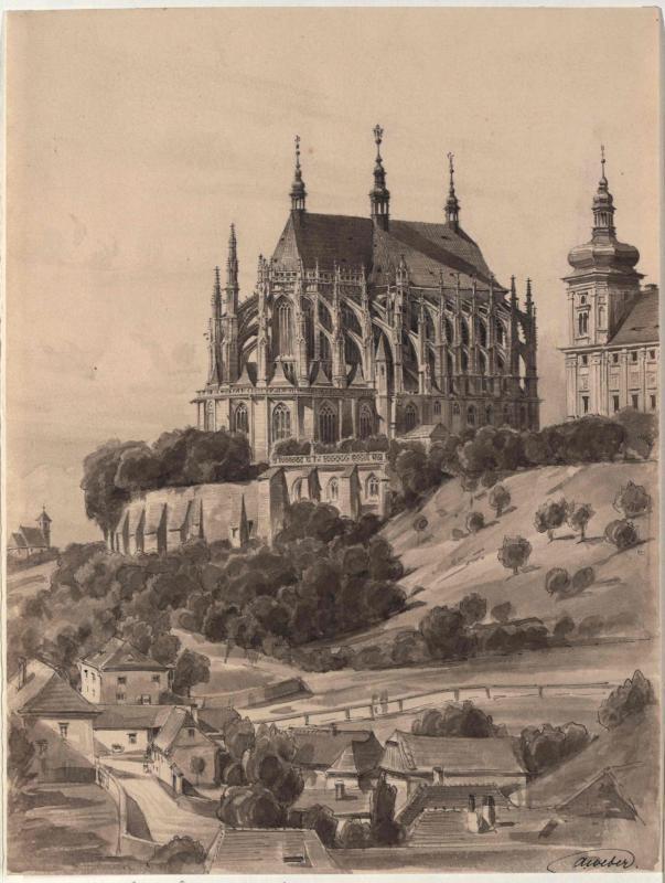 Die Barbarakirche in Kuttenberg