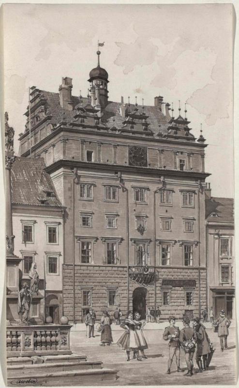 Das Rathaus in Pilsen