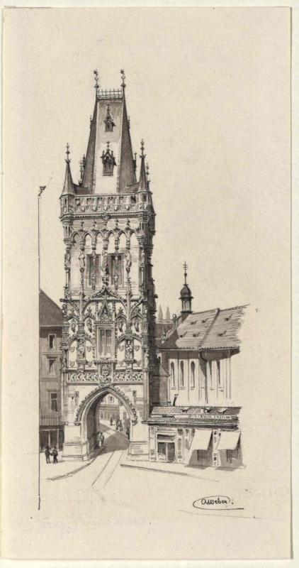 Der Pulverturm in Prag