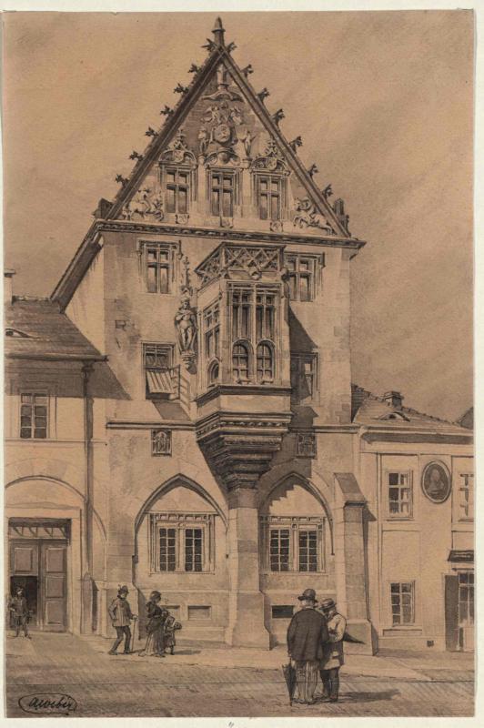 """Das """"Steinerne Haus"""" in Kuttenberg"""
