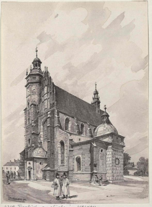 Die Fronleichnamskirche in Krakau