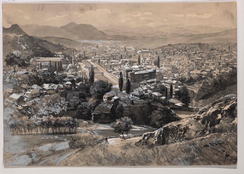 Ansicht von Sarajevo