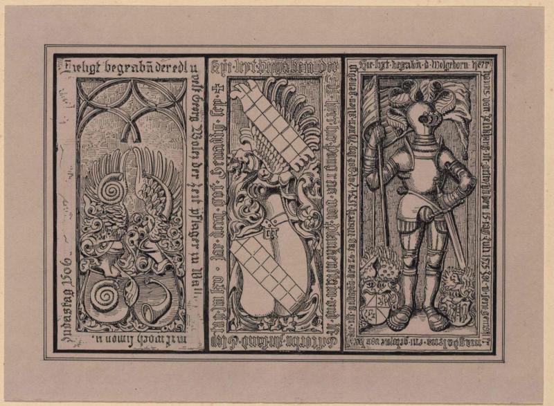 Mittelalterliche Grabplatten