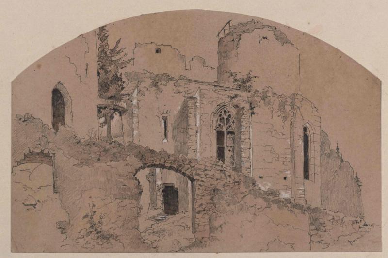 Burg Klamm in Niederösterreich - Detail