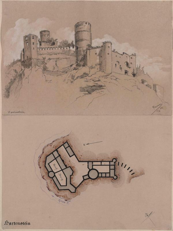 Burg Hartenstein in Niederösterreich