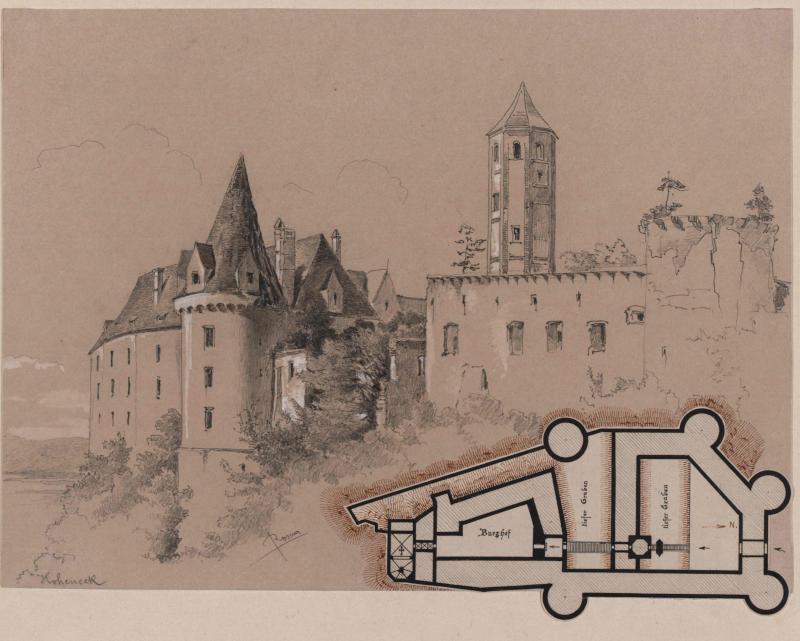 Burg Hohenegg in Niederösterreich