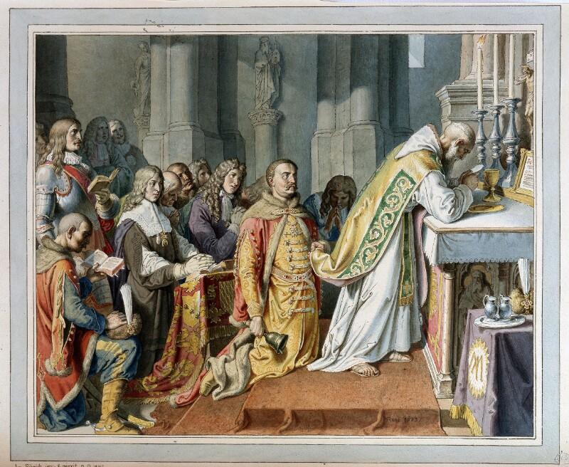 Messe auf dem Leopoldsberg