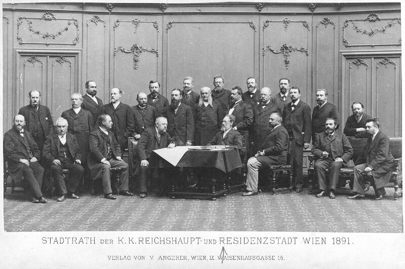 Stadtrat von Wien 1891