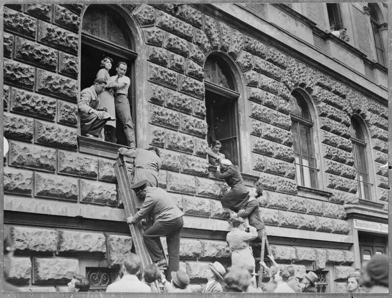Ausschreitungen nationalsozialistischer Studenten
