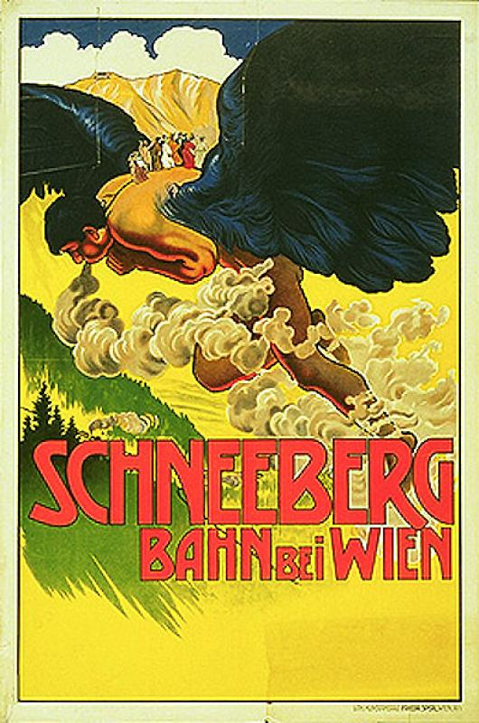 Schneebergbahn bei Wien