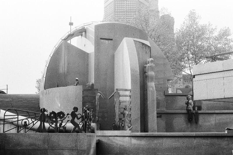 Brunnen  am Europaplatz
