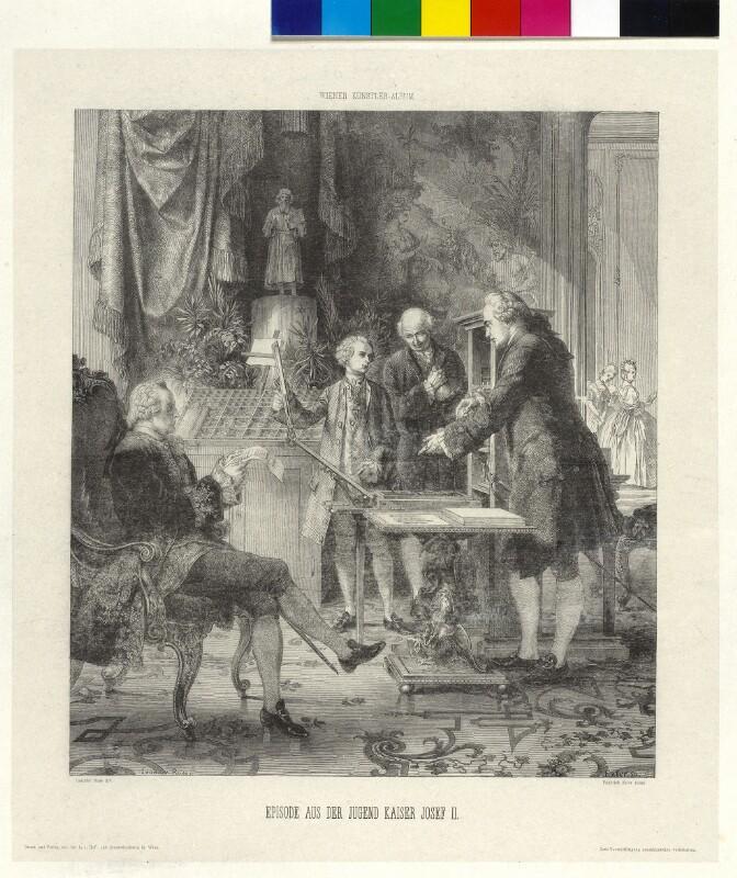 Episode aus der Jugend Kaiser Josef II.