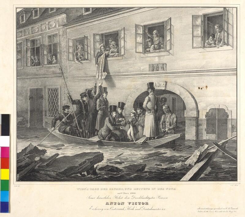 Wien's Tage der Gefahr, und Rettung in der Noth am 2ten März 1830