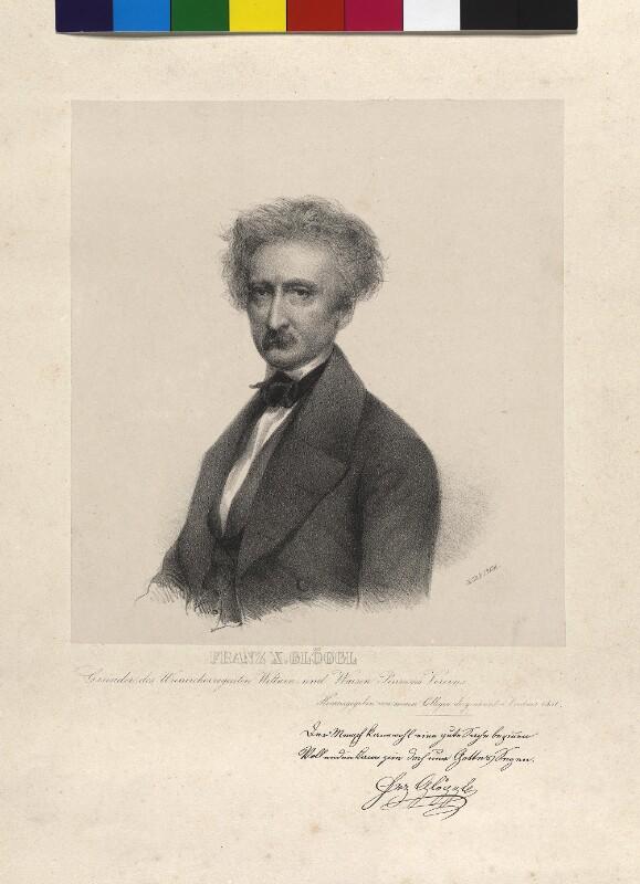 Franz Xaver (II) Glöggl©Bildarchiv Austria, ÖNB