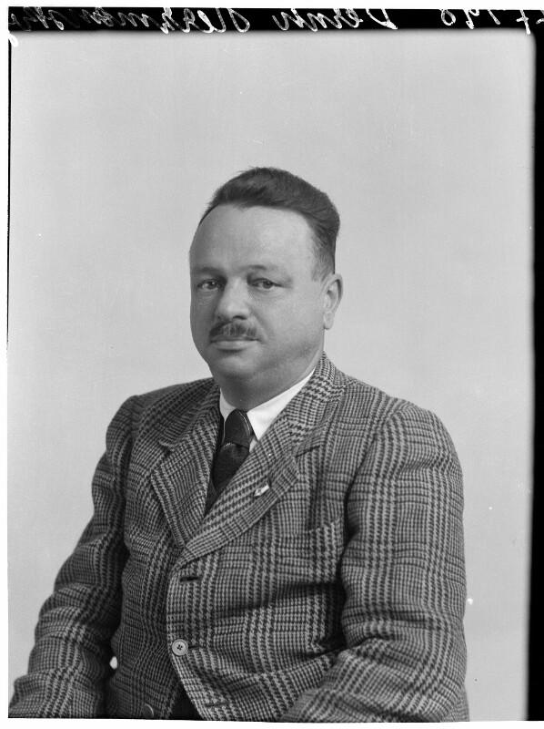 Bernhard Herzmansky jun. um 1938©Bildarchiv Austria, ÖNB