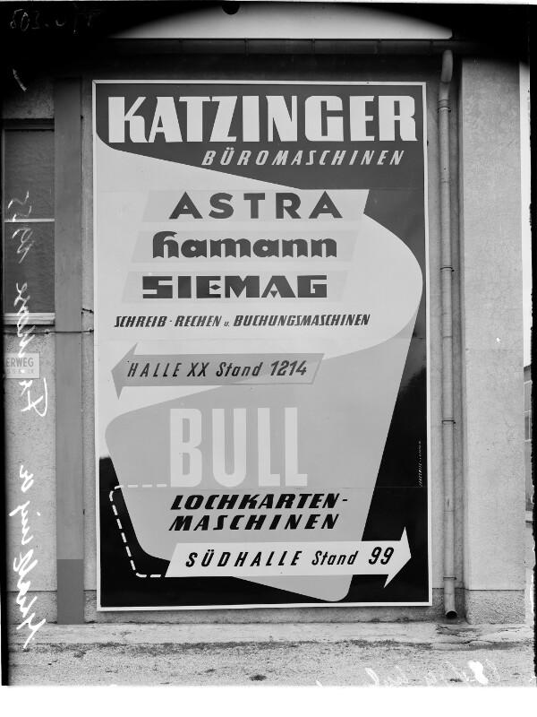 Plakate Wiener Messe