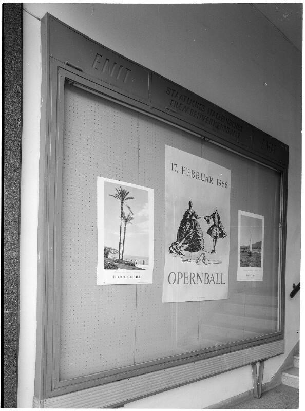 Plakat für den Wiener Opernball 1966