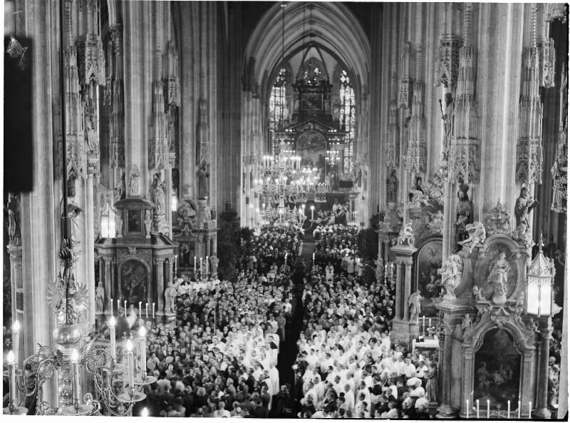 Tod von Kardinal Innitzer
