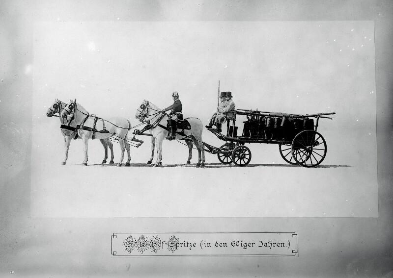 Wasserwagen zur Hofspritze