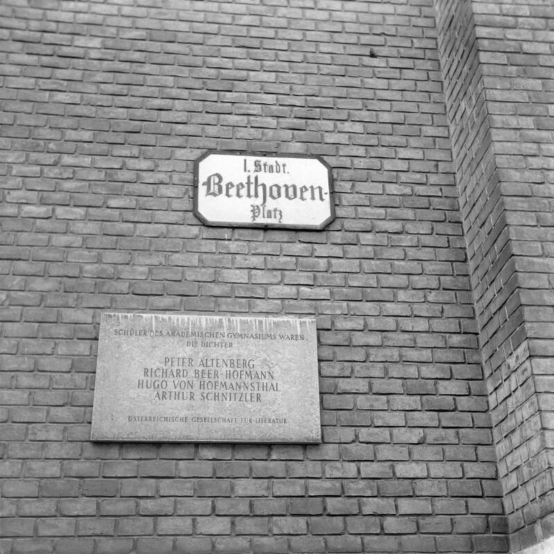 Wien, 1, Beethovenplatz
