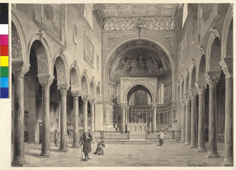 Euphrasius-Basilika in Parenzo - Innenansicht