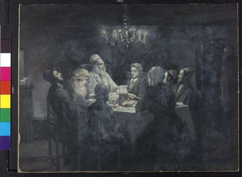 Der Osterabend bei den Juden