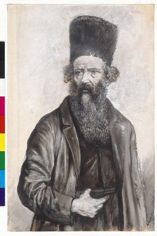 Rabbiner (Tracht der polnischen Juden)