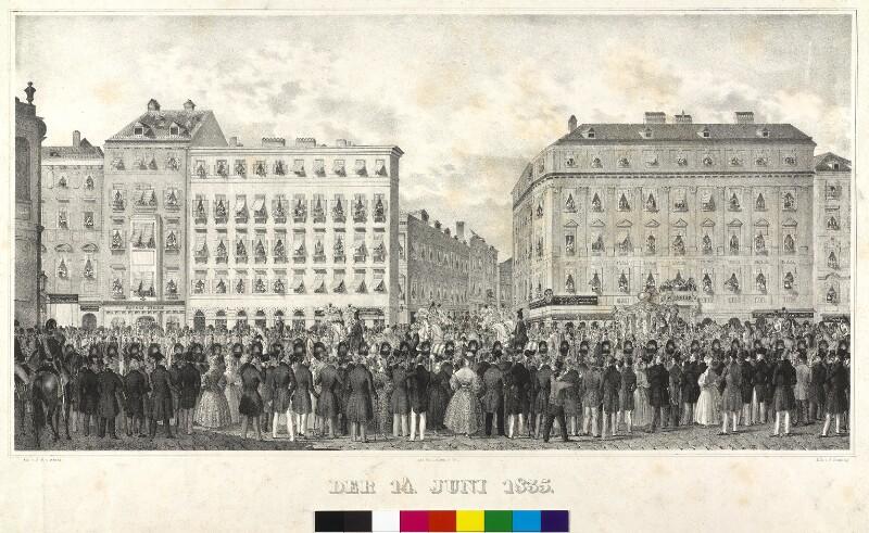 Erbhuldigung für Kaiser Ferdinand I. von Österreich in Wien 1835
