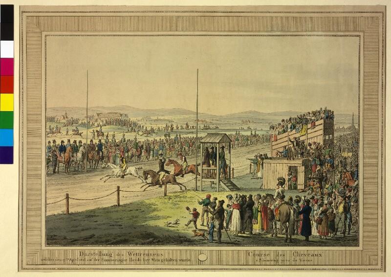 Wettrennen auf der Simmeringer Heide 1816