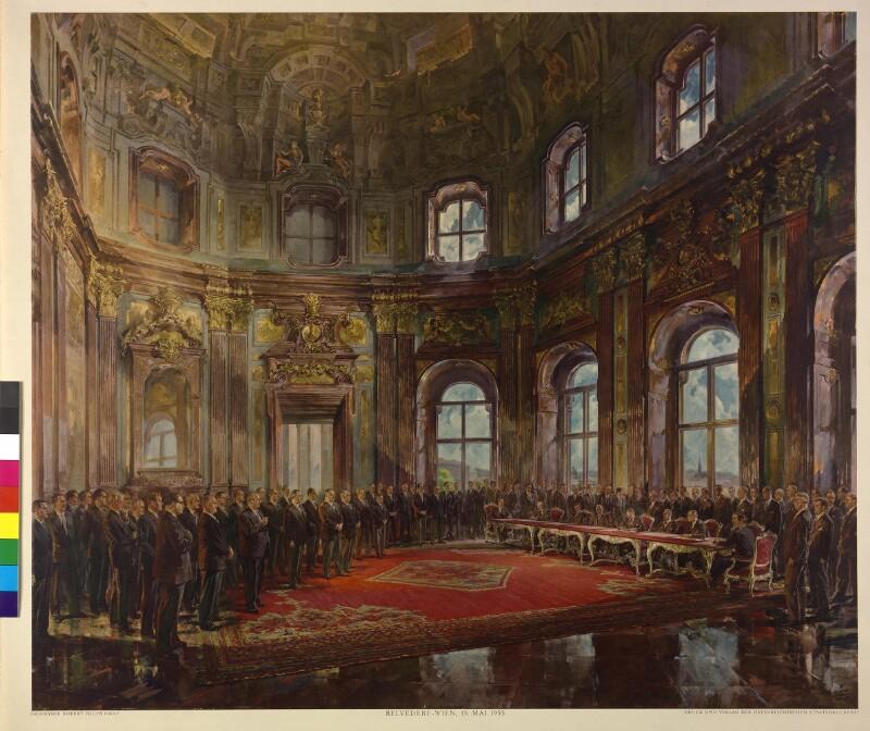 Österreichischer Staatsvertrag 15.5.1955