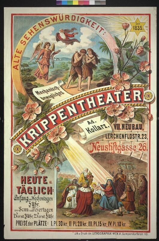 Mechanisch bewegliches Krippentheater - Wien VII Neubau