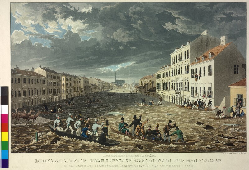 Überschwemmung in Wien, 1830