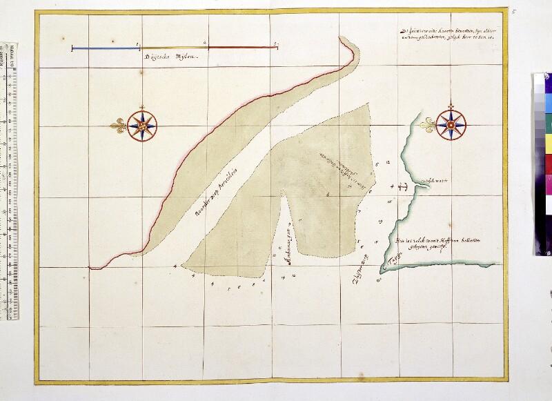 Landkarte der Sierra Leone - Mündung