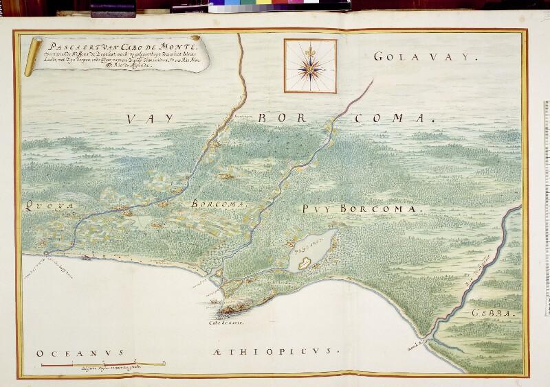 Landkarte der Cape Mount Region
