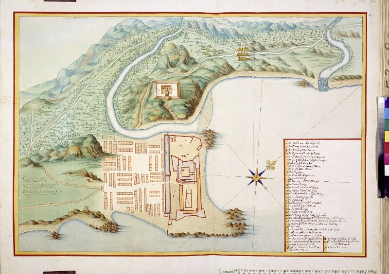 Plan von Elmina