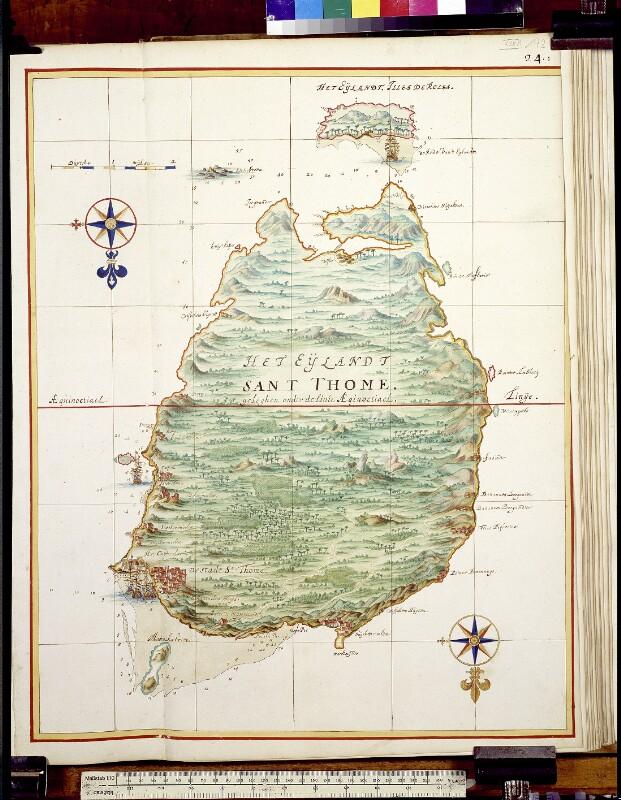 Landkarte von São Tomé