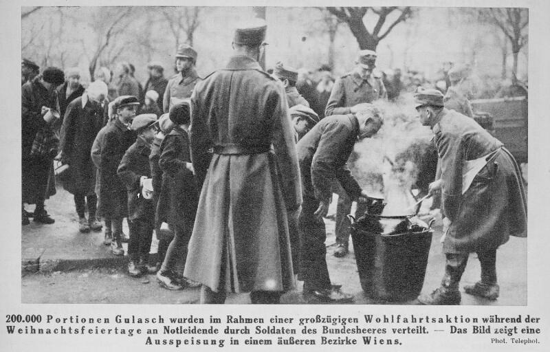 Wien, Weihnachten 1933