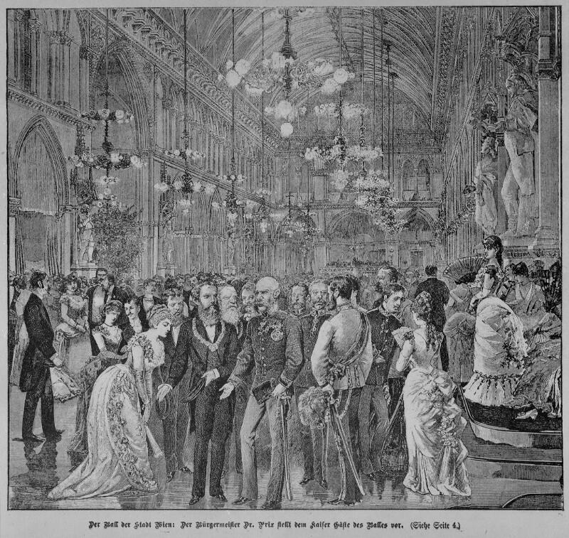 Ball der Stadt Wien 1891