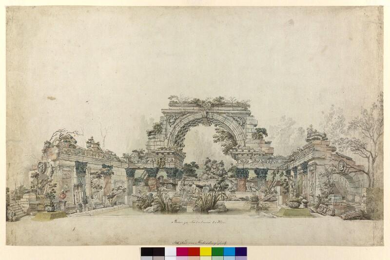 Wien 13, Schönbrunn - Römische Ruine