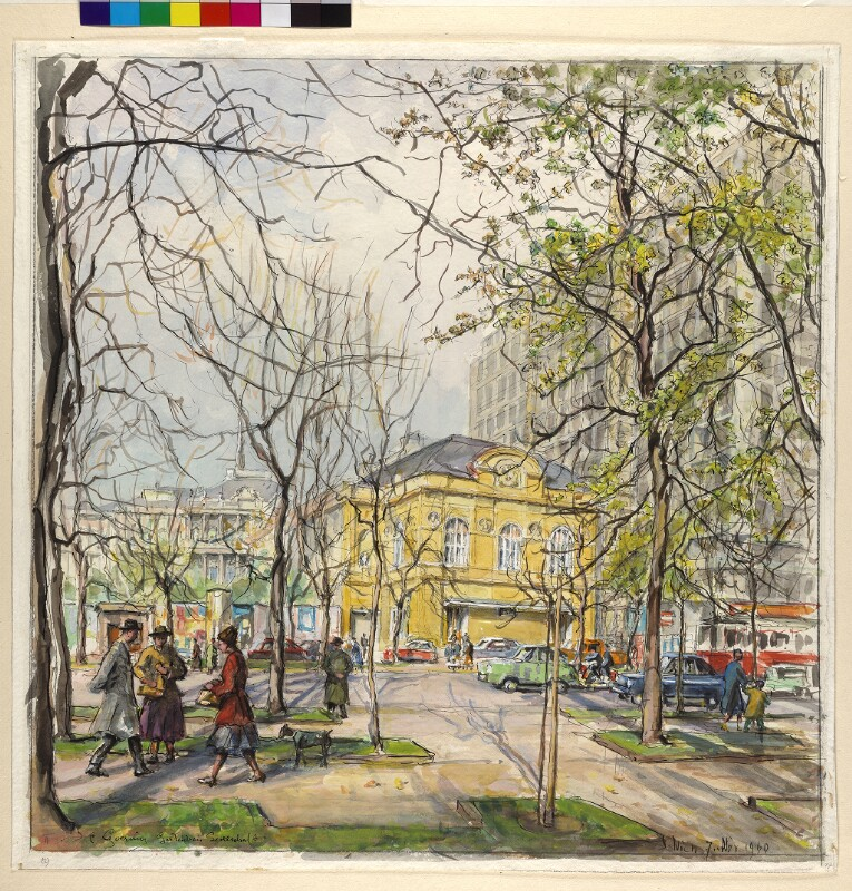 Wien 1,  Gartenbaugebäude der Österreichischen Gartenbaugesellschaft