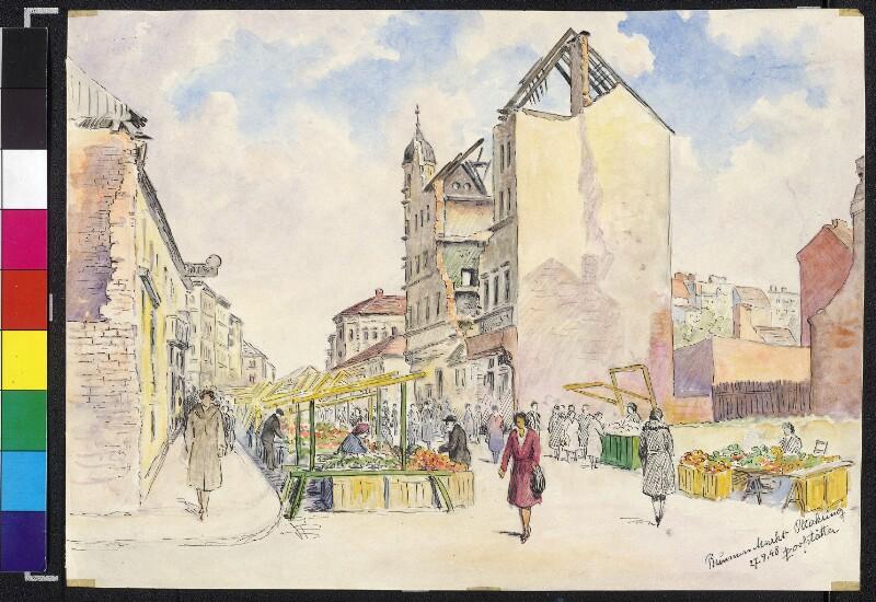 Brunnen Markt Ottakring