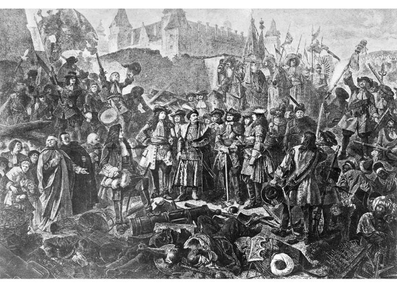 Sobieski, Johann III. König von Polen