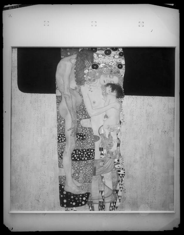 Gemälde 'Die drei Lebensalter' (1905) von Gustav Klimt