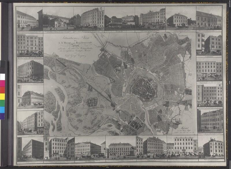 Wien, Stadtplan